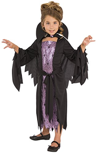 Rubies Costume Child's Little Vampire Costume, Medium, Multicolor