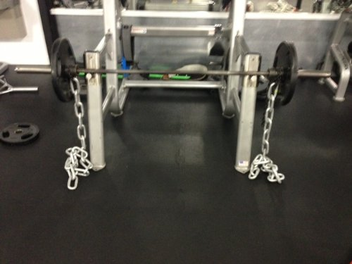 RopeFit Weight Lifting Chains Set of (2) 1/2 x 6ft Galvanized Steel 36lbs by RopeFit (Image #3)