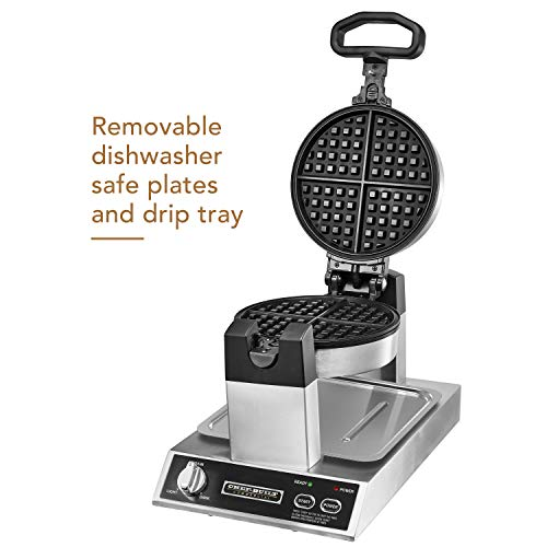 CHEF-BUILT (CWM-300) Commercial Rotating Classic Waffle Maker  by CHEF-BUILT (Image #1)