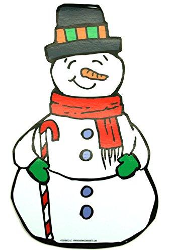 Snowman Car Magnet [20 15]