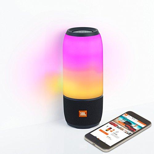 JBL Pulse 3 Wireless Bluetooth IPX7 Waterproof Speaker (Black) by JBL (Image #2)