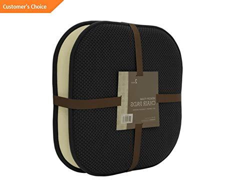 (Werrox 2 Pack: Ultra Comfort Memory Foam Non-Slip Chair Pads/Cushions - Assorted Colors | Model CHRCSHN - 67 |)