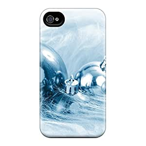 Gux21042RecS Anti-scratch Cases Covers Protective Silver Balls Cases For Iphone 6