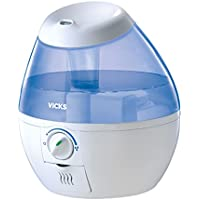 Vicks Mini Filter Free Cool Mist Humidifier Small...