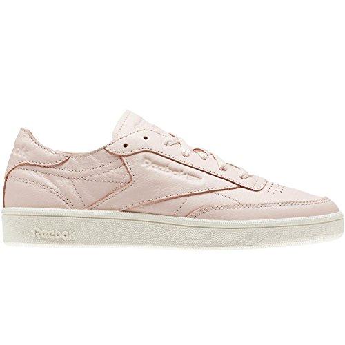 Reebok Club C 85DCN–Chaussures Sportives, femmes, Rose–(Luna Pink/Chalk)