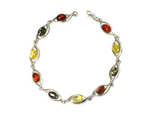 Ambre-Bracelet Femme-Argent 925/1000-(abbl0911162)