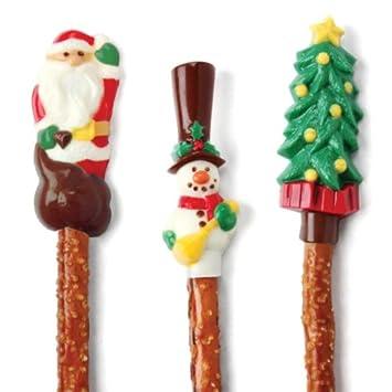 Make N molde vestido mi Cupcake para pretzel de Navidad Candy Mold