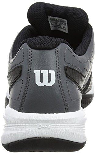 Wilson WRS322290E075, Zapatillas de Tenis para Hombre, Varios Colores (Multicolor / Iron Gate / Black / White), 41 1/3 EU