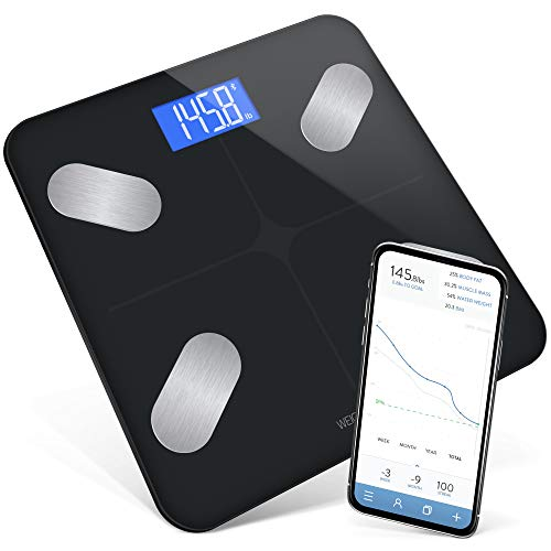 GreaterGoods Bluetooth Digital Body Fat Weight Scale