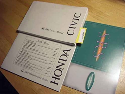 2001 honda civic owners manual honda amazon com books rh amazon com 2001 honda civic owners manual download 2001 honda civic service manual