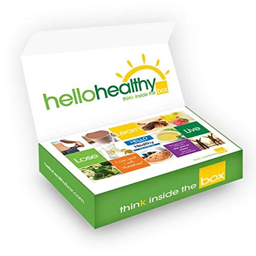 Hello Healthy Box 14-Day Kit for Weight Loss and Diet Control – VOTED BEST WORK FROM HOME DIET 2020- Low Carb, Protein…