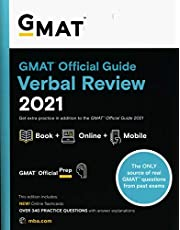 GMAT Official Guide Verbal Review 2021