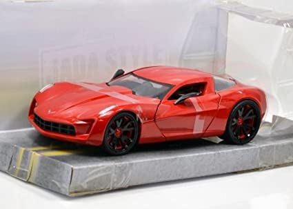 Amazon Jada 124 Bigtime Muscle 2009 Corvette Stingray Concept