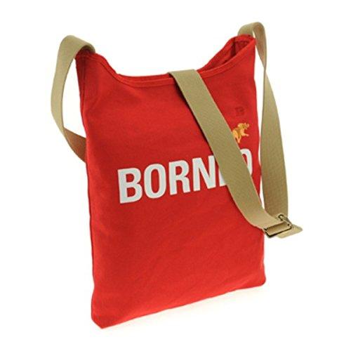 HUNTING WORLD (ハンティングワールド) 7160-869 BORNEO/RED ショルダーバッグ ファッション バッグ ショルダーバッグ その他のショルダーバッグ 14067381 [並行輸入品] B07NZCPFHD
