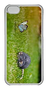 Customized iphone 5C PC Transparent Case - Beauty Cover