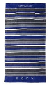 Luxury Oversized Ultimate Beach Towel (Urban Stripe)
