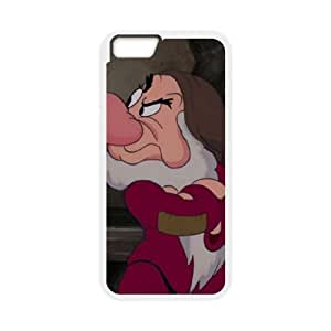 iphone6 4.7 inch Phone Case White Disney Snow White and the Seven Dwarfs Character Grumpy ESTY7817582