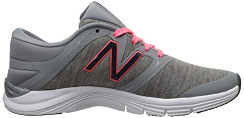 New Balance Women's 711v1 Training Shoe Gris-Rosa