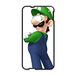 HTC One M7 Cell Phone Case Black Super Mario Bros D483136