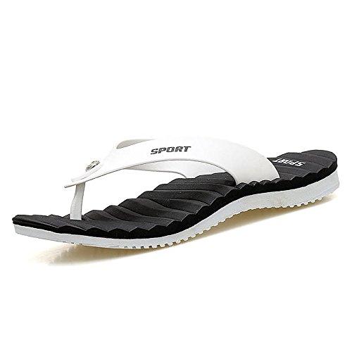 da sandali Sandali Flip Classic Flops Bianca Cachi Xujw Color per uomo spiaggia Uomo Dimensione 43 da Pantofola shoes 2018 EU da qwPEO10
