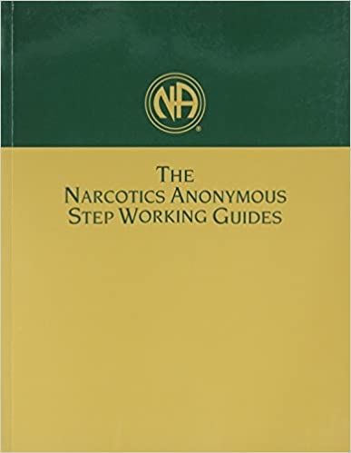Printables Na 12 Step Worksheets narcotics anonymous step working guides 9781557763709 medicine health science books amazon com