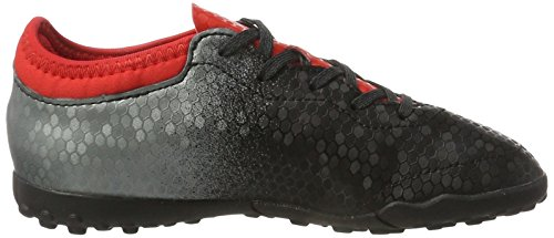 adidas X Tango 16.3 Tf J, Botas de Fútbol para Niños Negro (Core Black/core Black/red)