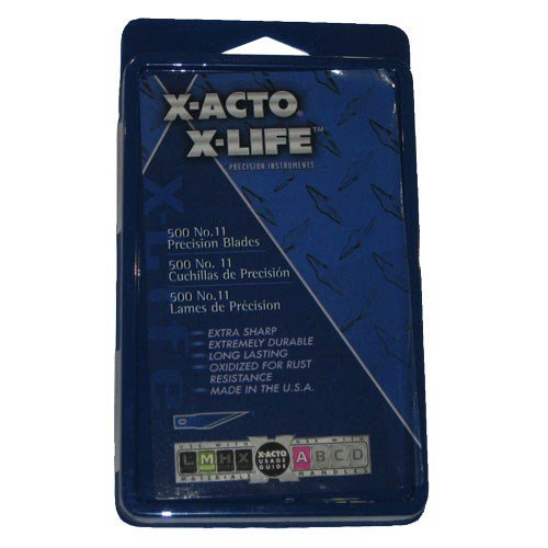 X-Acto 511 No.11 Blade, Pack Of 500 by X-Acto