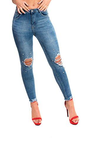 en Jeans Ikrush Womens Embelli Dtresse Denim Kayla qwzPWSzIH