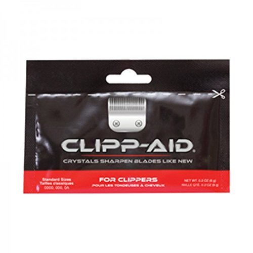 Clipp-Aid Sharpening Crystals For Standard Clipper Blades (Individual Sachet).