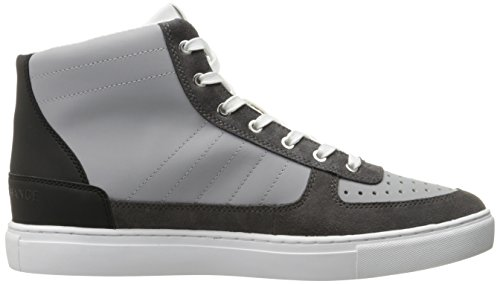 High Exchange Alloy Basket X Basket Size Top Armani Armani Exchange A Exchange Grey Multicolored Sneaker Dark Sneaker Armani High Mens Top nYwq1R4Px
