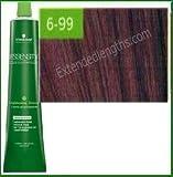 6 99 - Schwarzkopf Essensity Permanent Hair Color -Color 6-99 Dark Extra Violet Blonde