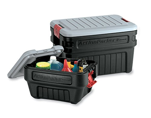 Rubbermaid 1172 Actionpacker Storage Box 24 Gallon