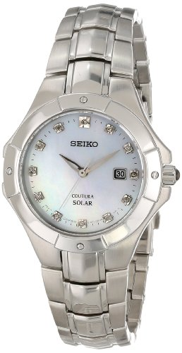 Seiko Coutura Ladies (Seiko Women's SUT125 Analog Display Japanese Quartz Silver Watch)