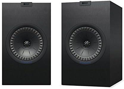 KEF Q350 Negro Altavoz - Altavoces (De 2 vías, 2.0 Canales, 63-28000 Hz, 8 Ω, Negro)
