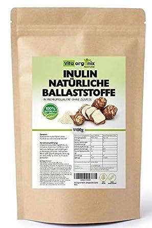 Hoher Ballaststoffgehalt 1100 g Präbiotikum Vit4ever Probio Inulin Pulver