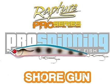 Shore Gun Rapture 125 - Señuelo Pesca Spinning - SAR -33g: Amazon ...