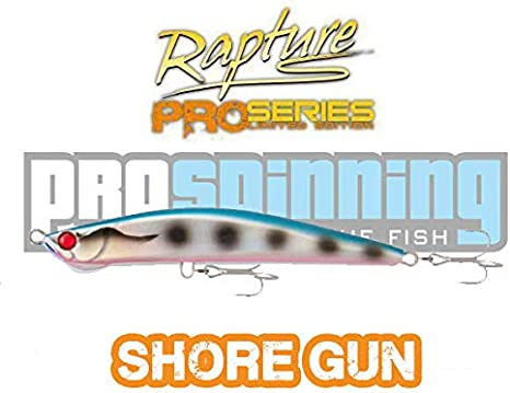 Shore Gun Rapture 125 - Señuelo Pesca Spinning - SAR -33g: Amazon ...