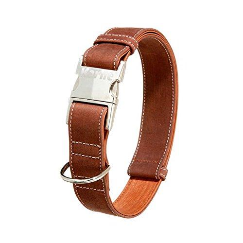 40 mm x 55-75 cm Karlie Buffalo Ultra Collar, 40 mm x 55-75 cm, Brown Light Brown
