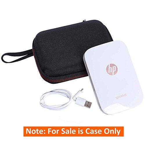 LTGEM Case for HP Sprocket Portable Photo Printer - EVA Hard Shockproof Case Travel Carrying Storage Bag