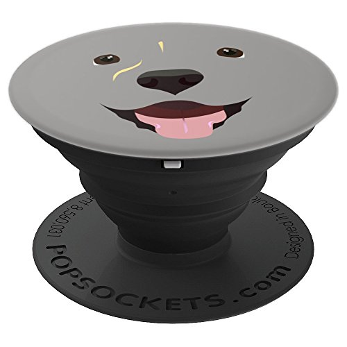 Labrador Face Art | Funny Cute Lab Dog Costume Design - PopSockets Grip and Stand for Phones and -