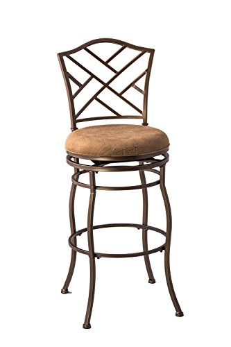 Hillsdale Hanover 4815-844 Swivel Bar Stool, Brown