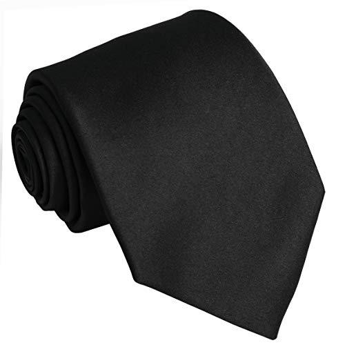 (Ties For Men Satin Necktie - Mens Solid Color Neck Tie Wedding Neckties)