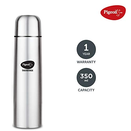 Pigeon-by-Stovekraft-Bullet-Stainless-Steel-Vaccum-Insulated-Flask-for-Hot-and-Cold-350-ml