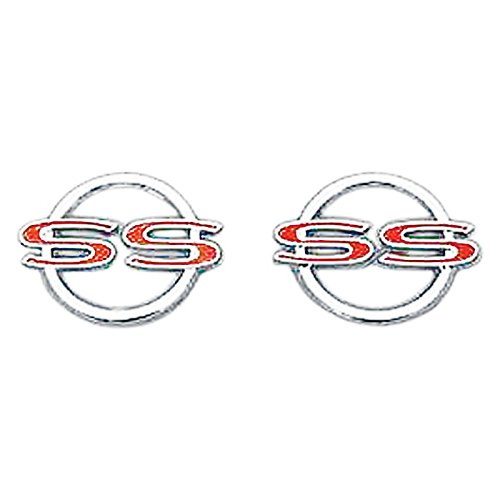 Ss Rear Panel Emblem - Eckler's Premier Quality Products 40-246007 Full Size Chevy Rear Quarter Panel Emblems, Impala SS,
