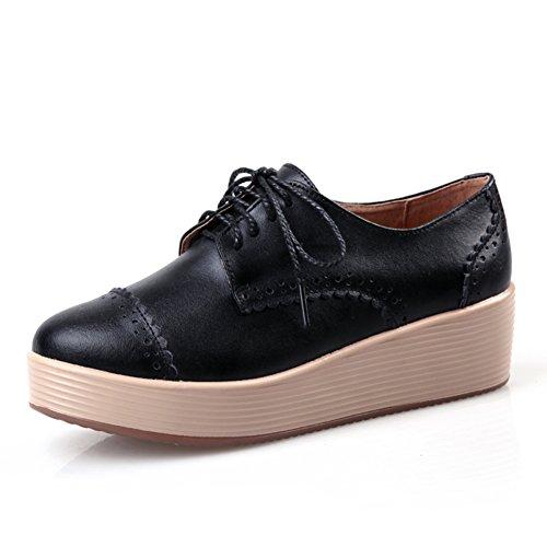 Primavera Zapatos De Mujer Casual,Zapatos De La Plataforma Suela Gruesa De La Dermis Del,Calzado Casual,De Mujeres Los Zapatos Planos,Zapatos Nude C