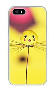 Lovely Drop - Personalized Crystal Clear Enamel Hard Back Shell Case Cover Skin for iPhone 4/4S