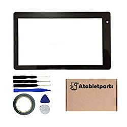 Touch Screenpanel Digitizer Glass Screen For Ematic Funtab Pro Ftabu 7inch Tablet Pc