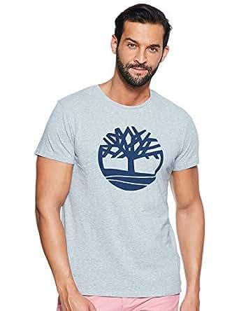 Timberland Grey T Shirt For Men, Medium