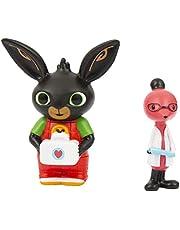 """Bing BNG10K01 paar mini-figuren """"Bing Doctor en Dottor Molly"""", voor kleine handen, voor kinderen vanaf 18 maanden"""