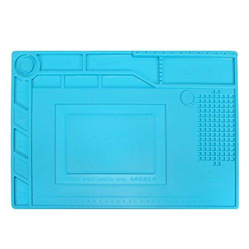 ChaRLes S-150 39X27Cm Soudure Réparation Maintenance Plate-Forme Isolation Thermique Silicone Pad Mat